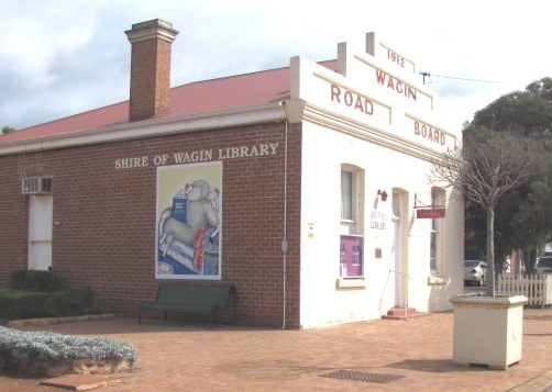 Wagin Library Mural