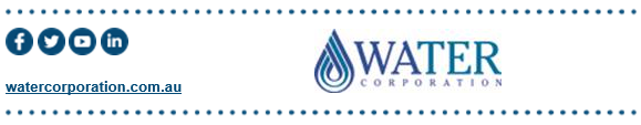 Water Corporation - Preventing the Blockages